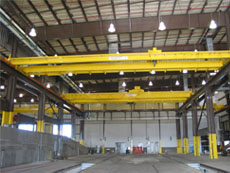 Two Double Girder Bridge Cranes