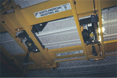 Overhead Crane Hoist and Trolley